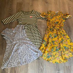 Bundle of Girls Dresses